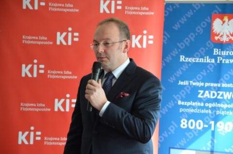 dr hab.n.med. Maciej Krawczyk, Prezes Krajowej Rady Fizjoterapeutów