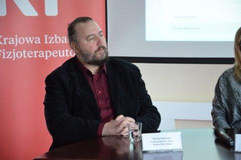 Dariusz Gnatowski, współzałożyciel fundacji Wstańmy Razem Aktywna Rehabilitacja
