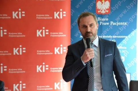 Tomasz Niewiadomski - wiceprezes Krajowej Rady Fizjoterapeutów