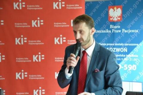 Ernest Wiśniewski - wiceprezes Krajowej Rady Fizjoterapeutów